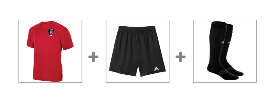 ACADEMY TRAINING UNIFORM - click either image to order
